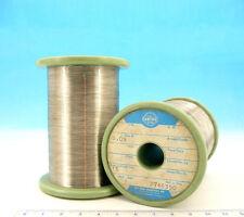 200ft 60m NICHROME Nikrothal 39AWG  0.09mm 173 Ω/m  52 Ω/ft Resistance WIRE 0,09