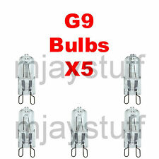 5X G9 18w Kingavon larga vida regulable bombillas de ahorro de energía Lámpara de Cápsula vatios 240V