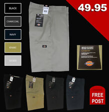 "DICKIES 13"" Multi-Use Pocket Work Short  Black Navy Charcoal Khaki Silver"