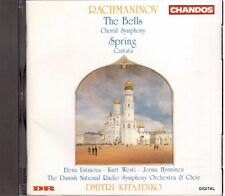 Rachmaninov: The Bells, Springs / Dmitri Kitajenko, Danish National Orches. - CD