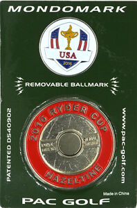 2016 RYDER CUP (Hazeltine) USA MONDOMARK Commemorative Coin - GOLF BALL MARKER