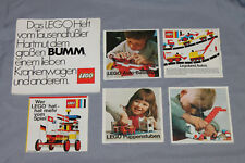 Lego System Beipackzettel / Katalog / Flyer 1966 Tausendfüßler, Legoland Autos