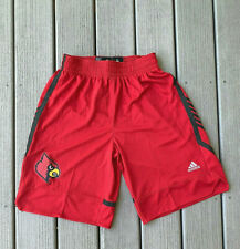 Adidas NCAA Louisville Cardinals March Maddness Replica Basketball Shorts NEW