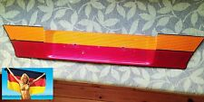 Hella VW Golf MK2 Rear Bootlid Tailgate Red Orange Heckblende Number Plate Trim