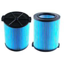 Replacements For Ridgid VF5000 6-20 Gallon Wet/Dry Units 3-Layer Filters WD0671