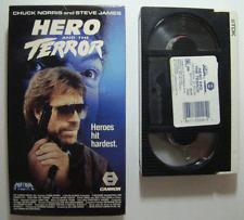 Hero And The Terror BETA TAPE Chuck Norris Steve James