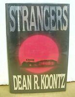 Strangers by Dean R. Koontz 1986 HB/DJ *Signed*