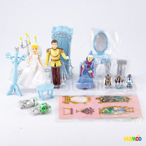 Genuine Disney Store Figures Accessories Playset From Magical Cinderella Castle