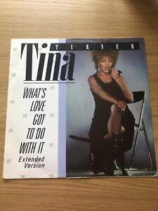 Tina Turner Whats Love Got To Do With It 12inch Vinyl