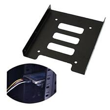 "2.5"" inch SSD HDD to 3.5"" Metal Mounting Adapter Bracket Dock Hard Drive Holder"