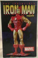 Marvel The Invincible Iron Man Maquette Statue Diamond Select  #732 of 2000 NIB