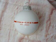 RARELY RARE Boule de Noel décoration MONTE CARLO BAY mcb MONACO mc Joyeuses Fête