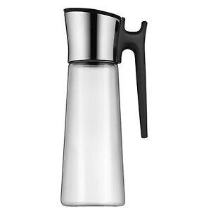 WMF Wasserkaraffe Basic mit Griff Karaffe 1,5 l schwarz Kippdeckel Wasser Neu