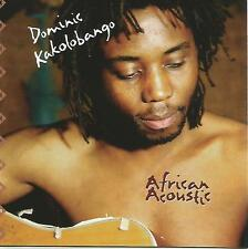 Dominic Kakolobango - AFRICAN ACOUSTIC World Africa Congo/Zambia afropop
