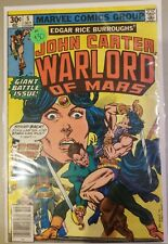 Marvel Comics Group 5 John Carter Warlord Of Mars - Bagged and Boarded