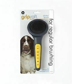 JW Gripsoft Grooming Small Slicker Brush - 36715