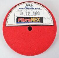 1x FibraNEX Polierscheibe für Kupfer und Messing 7P - 120 aus Nylonfaser - 25