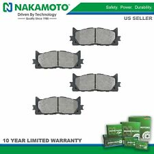Nakamoto Premium Posi Semi Metallic Front Brake Pad Kit for Toyota Camry Lexus