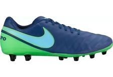 Nike Tiempo Genio II Leather AG-Pro Football Boots - Coastal Blue UK 10 BNIB