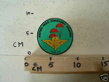 STICKER,DECAL MEETING PARA-COMMANDO SCHAFFEN 27 & 28 5 1978 AIRPLANE ARMY ?