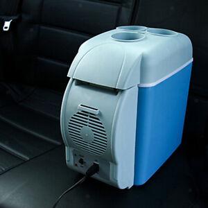 12V DC 7.5 Liter Mini Fridge Car Refrigerator for Vehicle Camping Beer