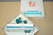 1/64 Winross Howard Johnson's White Semi Tractor Trailer
