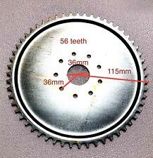 80cc gas engine motor bike parts - 56T 56 teeth dish sprocket only ( no mount)