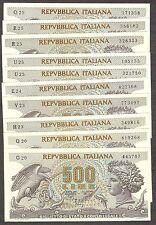1x 500 lire Aretusa 1970 Perfetto FDS UNC banconote da mazzetta 23-02-1970