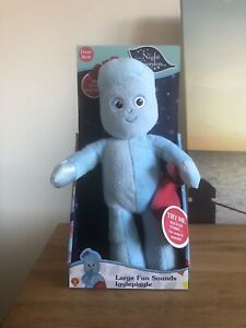 In The Night Garden Iggle Piggle Fun Sounds Soft Toy Red Blanket New