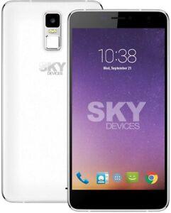 SKY Devices - Platinum 6.0 Plus Phone 8MP/5MP Cam 8GB Storage 1GB RAM - Silver