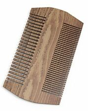 Tombstone Beard Comb  Double Sided Sandalwood To Tame Your Facial Hair