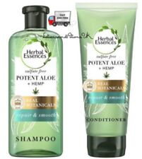 Herbal Essences ALOE & AND HEMP Sulphate Free Shampoo Conditioner - 2 PACK