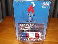 DALE EARNHARDT 1996 ATLANTA OLYMPIC GAMES LIMITED EDITION 1:64 SCALE CAR, NIP