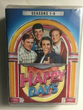 Happy Days Complete Seasons 1-6  (DVD, 22 Disc Set, 2016) NEW DAMAGED CASE