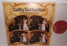 LRL1 5007 Cathy Berberian At The Edinburgh Festival