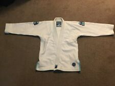 Inverted Gear White Bamboo Weave Gi A1S