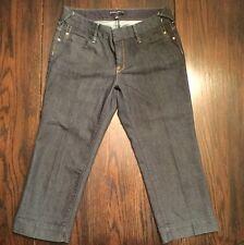 Banana Republic Women's Capri Dark Blue Jeans  Pants Shorts Size 8 New!!!!