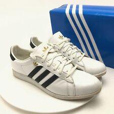 Adidas Shoes Trainers Sleek Series Size UK 7 White and Black RL Vintage