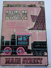 Disney  DLR Framed Attraction Poster Santa Fe Railroad Pin **