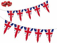 British Union Jack Theme Bunting Banner Stylish party decoration by PARTY DECOR