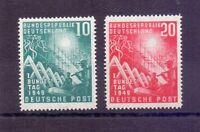 Bund 1949 - Bundestag - MiNr. 111/112 postfrisch** - Michel 100,00 € (004)