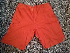 Lotto 136 pantalone uomo corto arancione Tg.XL