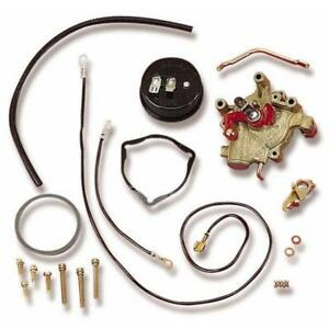 Holley Choke/Throttle Conversion Kit 45-224; 4150 Electric