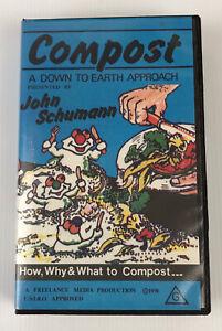 Compost A Down To Earth Approach John Schumann VHS Video