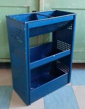 Vintage 1950's Tala Ware Vegetable Rack Kitchen Storage Shelves retro metal blue