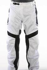 ICON Anthem 2 Mesh Motorcycle Over Pants NWT! Sz 36 White Black Gray