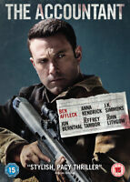 The Accountant DVD (2017) Ben Affleck, O'Connor (DIR) cert 15 ***NEW***