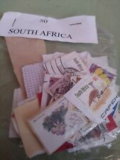 Used worldwide stamps 50 South Africa