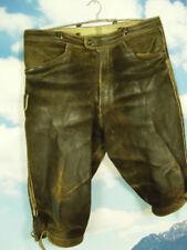 Herren-Trachtenhosen aus Hirschleder Speckige