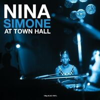 NINA SIMONE - AT TOWN HALL (180 GR. BLUE VINYL)  VINYL LP NEW+